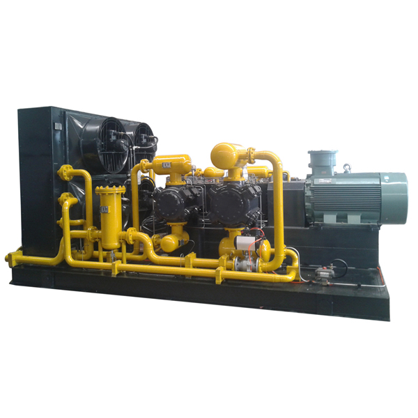 Gas Lift Oil Production Compressor