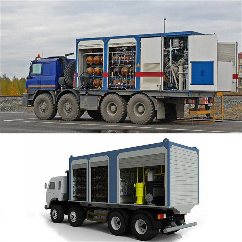 Complete Mobile fuelling Station