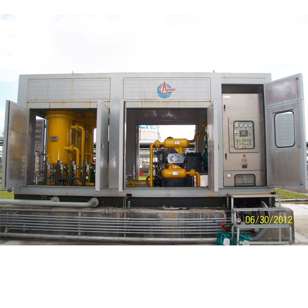 Vent Gas Recovery/Gathering Unit